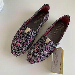 Toms Classics Floral Shoes